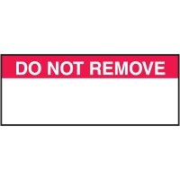 Do Not Remove Label