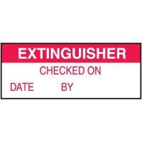Extinguisher Label