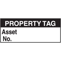 Property Tag Label