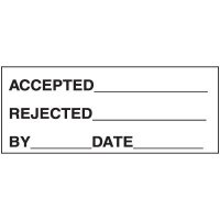 Accepted / Rejected Label