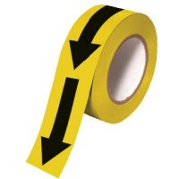 Black Arrow Exterior Warning Tape Nadco 144Y/B-2E
