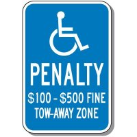 State-Specific Handicap Parking Signs - Virginia