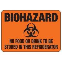 Biohazard Sign - Biohazard No Food Or Drink