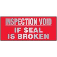 Inspection Void Labels