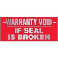 Warranty Void Labels