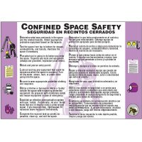 Bilingual Confined Space Safety Wallchart