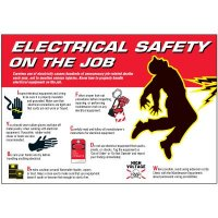 Electrical Safety On The Job Wallchart