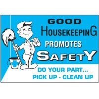 Good Housekeeping Promotes Safety Wallchart