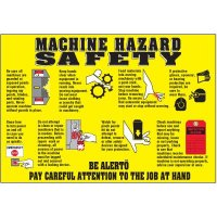 Machine Hazard Safety Wallchart