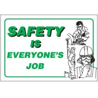 Safety Is Everyone's Job Wallchart