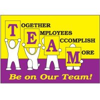 Together Employees Accomplish More Wallchart