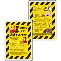 Forklift Safety Wallet Card