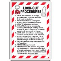 Lockout Procedures Wallet Card