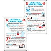 Universal Precautions Wallet Card
