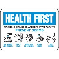 Washing Hands Is An Effective Way To Prevent Germs Sign