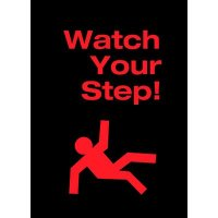 Watch Your Step - Safety Message Mat