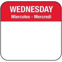 Water-Soluble Labels - Daily Labels