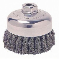 Weiler® - General-Duty Knot Wire Cup Brushes  12276
