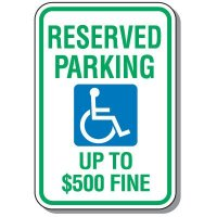 State-Specific Handicap Parking Signs - West Virginia