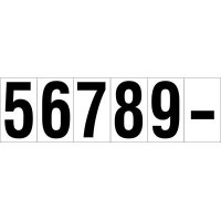 Consecutive Number and Letter Labels