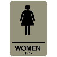 Women ADA - Economy Braille Signs