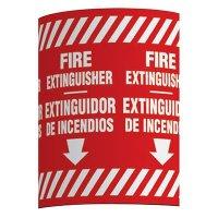 Bilingual Fire Extinguisher - Wrap Around Label