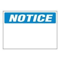 Write-On Chemical Labels - Notice
