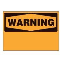 Write-On Chemical Labels - Warning