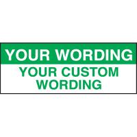 Custom Self-Laminating Labels