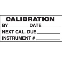 Calibration By Status Labels