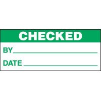 Checked Status Label