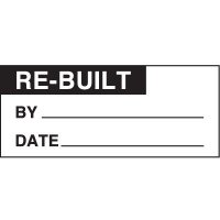 Re-Built Status Label
