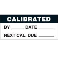 Calibrated status label