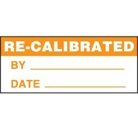 Re-Calibrated Status Label