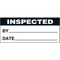 Inspected Self-Laminating Status Labels