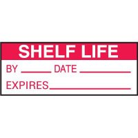 Shelf Life By Date Expires Write On Status Labels