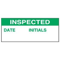 Inspected Date Status Label