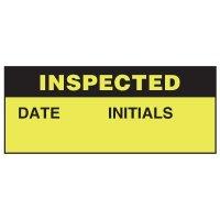 Inspected Status Label