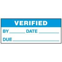 Verified Status Labels