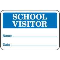 School Visitor Badges