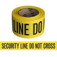 Security Line Indoor Barricade Tape