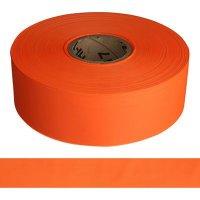 Solid Orange Barricade Tape