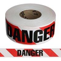Striped Danger Barricade Tape