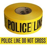 Police Line Barricade Tape