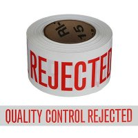 Quality-Control Rejected Barricade Tape