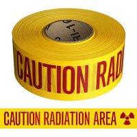 Caution Radiation Area Barricade Tape