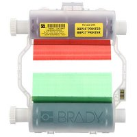Brady B30 Series B30-R10000-KRGB-16 Ribbon - Black/Blue/Green/Red