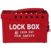 Brady Group Lockout Box - Metal