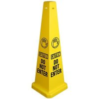 Caution Do Not Enter Safety Cone