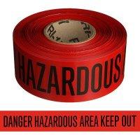 Hazardous Area Keep Out Barricade Tape